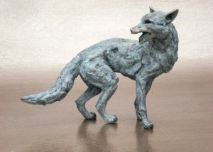 Turning Fox Miniature