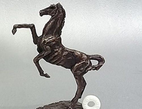 Rearing Horse Tall